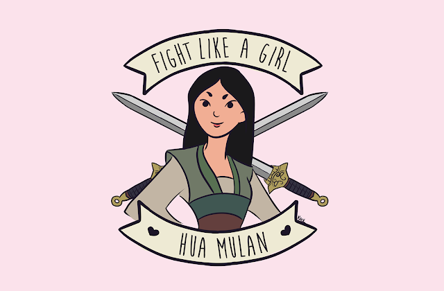 Fight Like a Girl Mulan