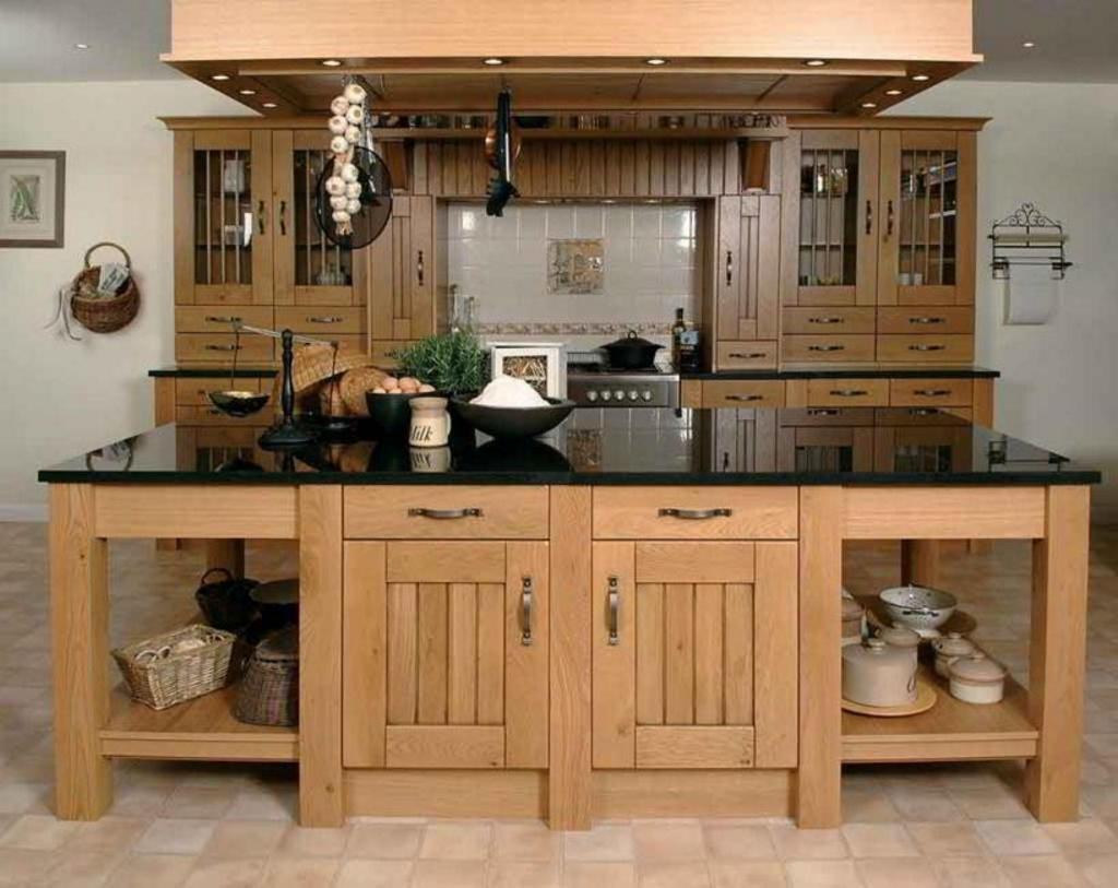 kitchen set dari kayu bekas 1