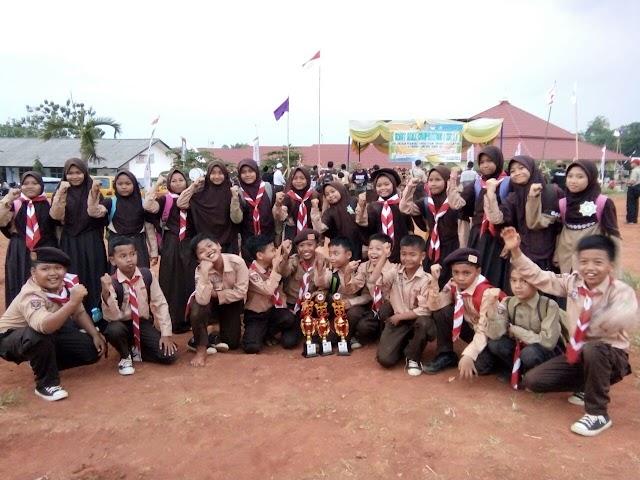 Rebut 3 Piala dalam Scouting Competition