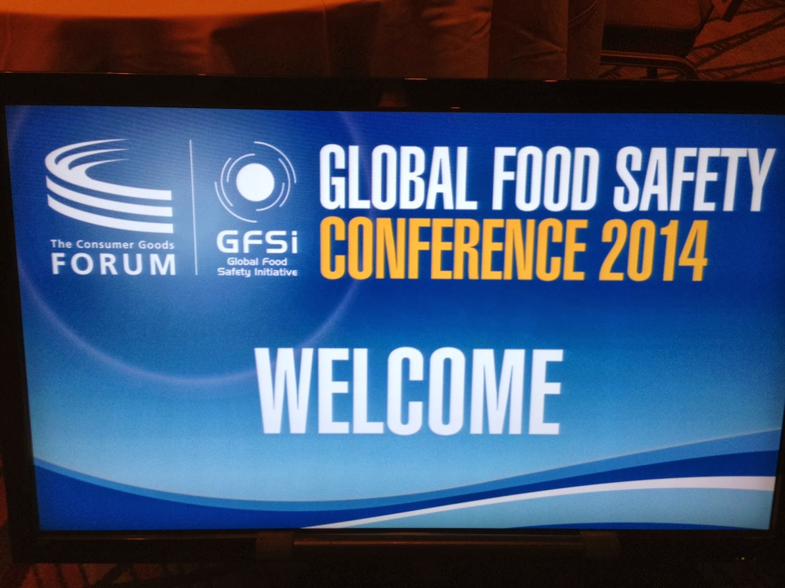 Global Food Safety Conference 2014 - Anaheim   Food Safety