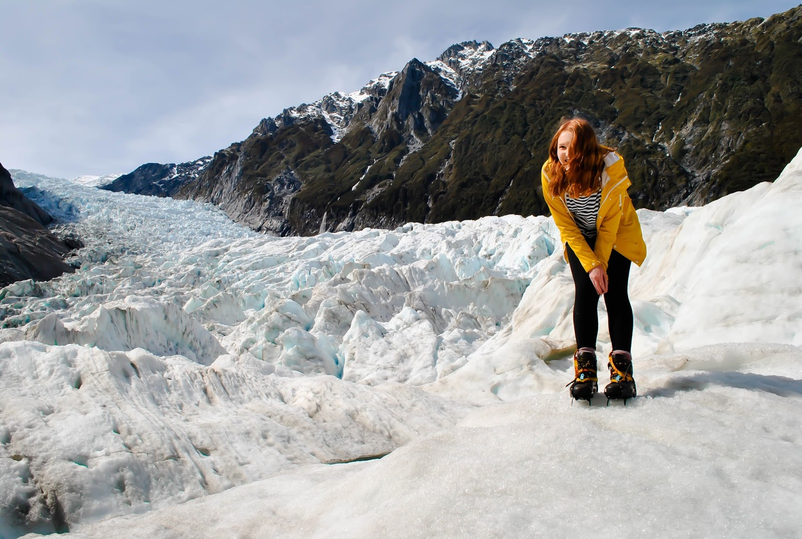 Things to do on the South Island of New Zealand : Fox Glacier Heli-Hike with Topdeck Travel