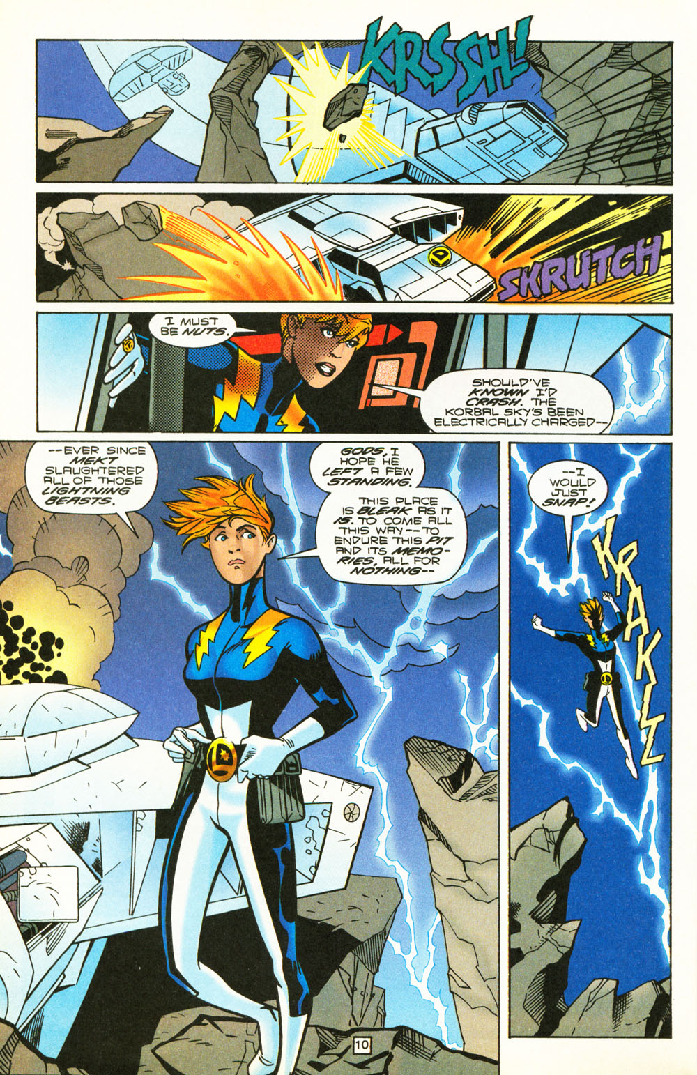 Legion of Super-Heroes (1989) 101 Page 10
