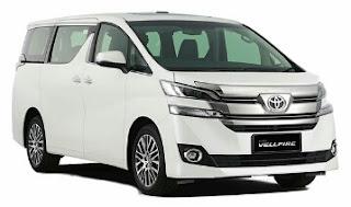Mobil Toyota All New Vellfire