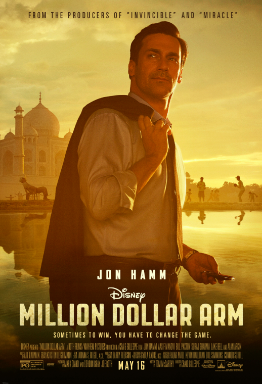 "Walt Disney Pictures drama ""Million Dollar Arm"""