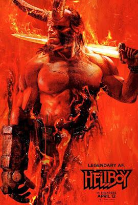 """Cine: Revelado el primer póster oficial de la película """"Hellboy"""""""