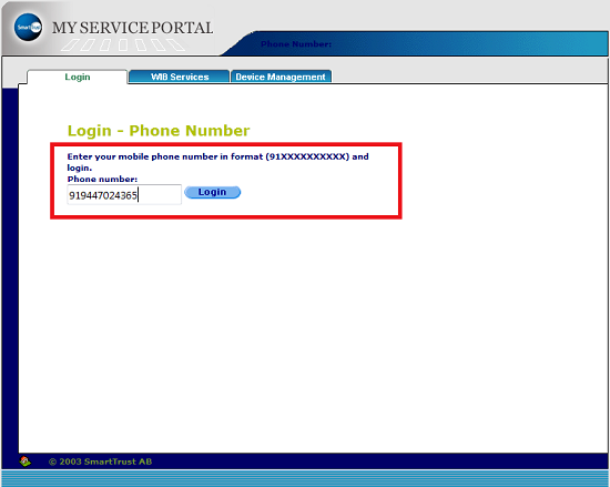 How to download BSNL 3G/2G Internet Settings and MMS Configuration for your Mobile Handset through Online Portal-3
