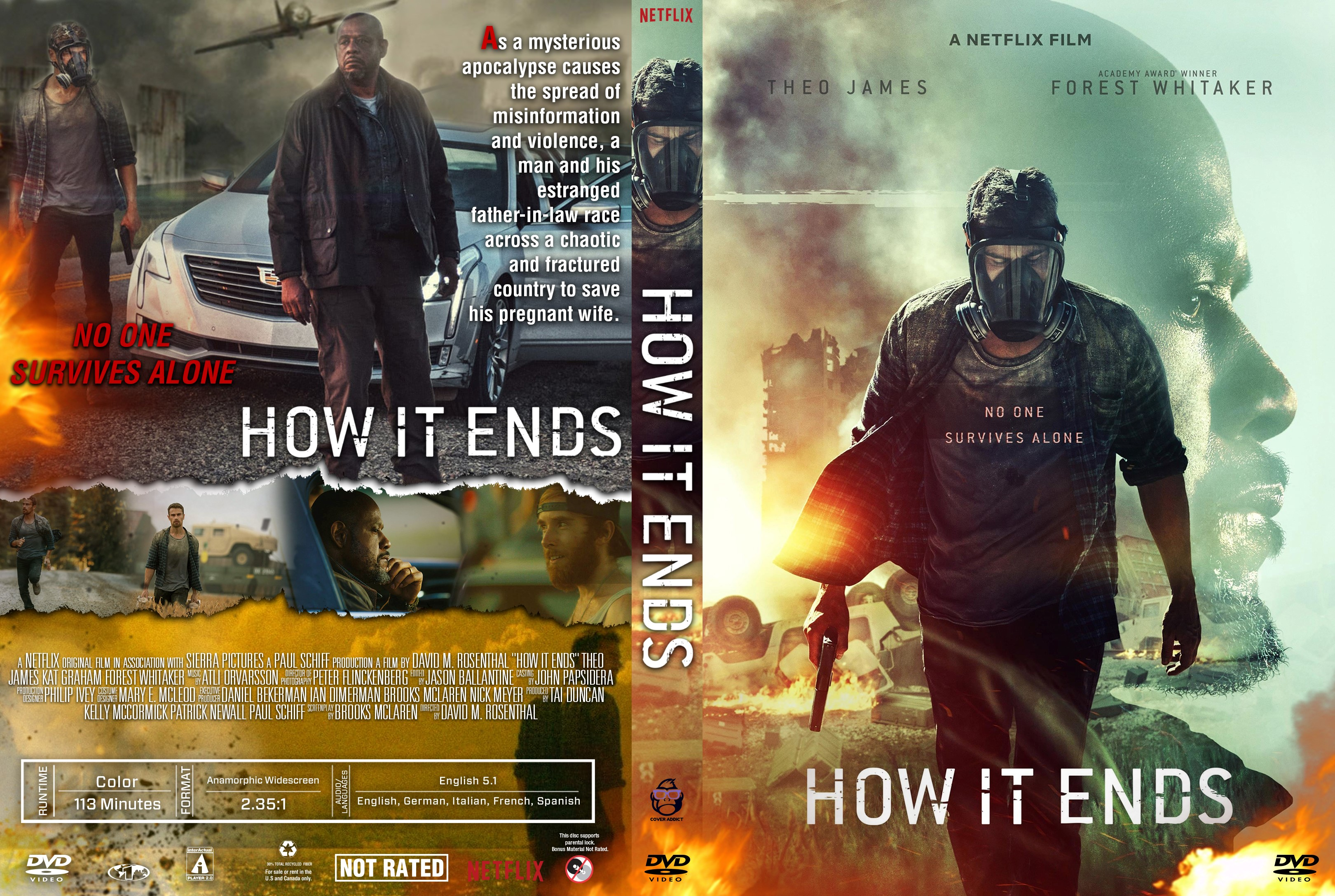 How It Ends DVD Cover   Cover Addict   DVD and Bluray Covers How It Ends DVD Cover