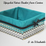 http://letsmakeitlovely.blogspot.com/2014/07/upcycled-fabric-basket.html