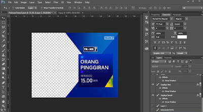 Polosan Template Program Trans 7 PSD Terbaru