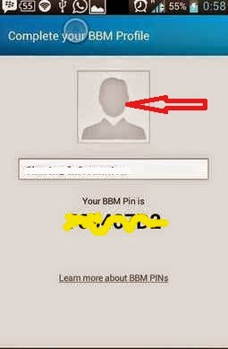 display picture BBM error pada Android