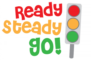Welcome to our English class! : Ready, steady, go!