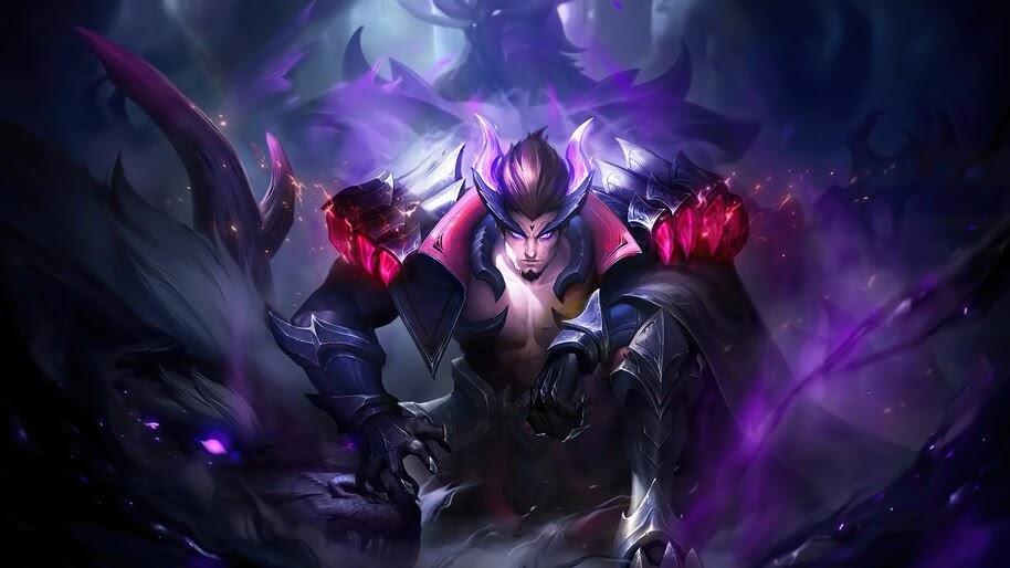 Yu Zhong, Mobile Legends, Black Fierce Dragon, 4K, #5.2107