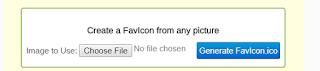 Membuat Favicon Blog dan Website Sendiri