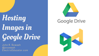 Hosting Images in Google Drive
