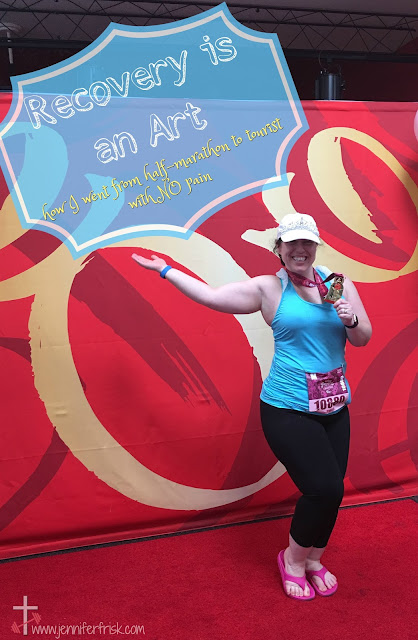 How I went from half marathon to tourist with NO pain