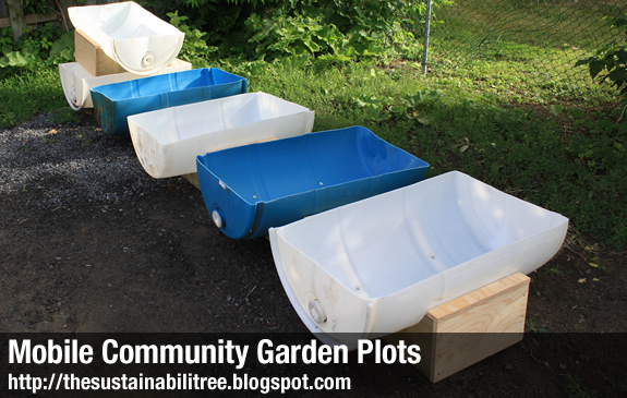 Mobile Community Garden Plots