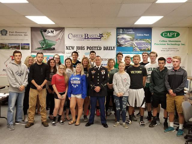 Sergeant Walker visits Tri Star CBI Class