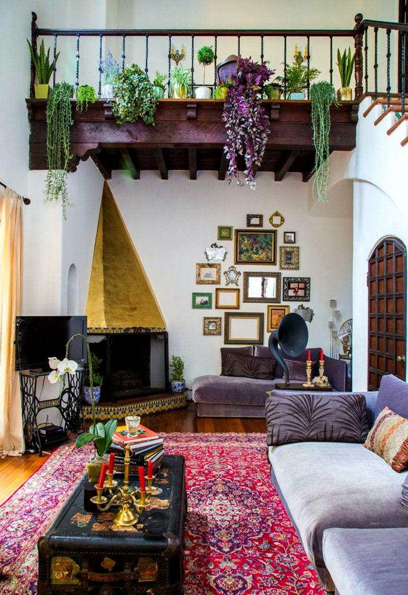 House Beautiful The 9 Boho Chic Interior Design Ideas ...