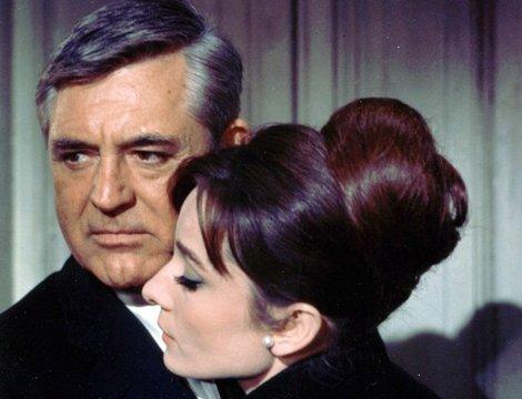 Charade 1963 movieloversreviews.filminspector.com Cary Grant Audrey Hepburn