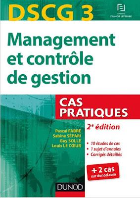 Télécharger Livre Gratuit DSCG 3 - Management et contrôle de gestion pdf
