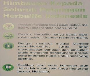 jual herbalife murah bekasi