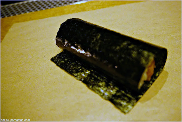 Sushi en KazuNori: The Original Hand Roll Bar en Nueva York