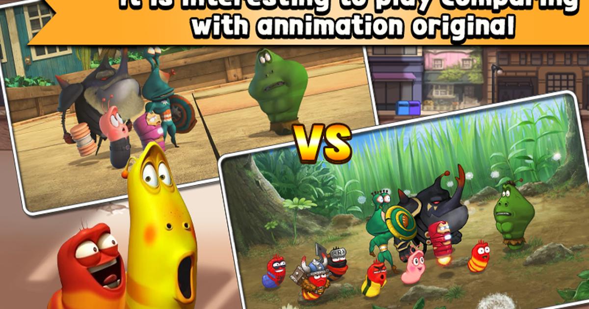 download game larva heroes mod apk android