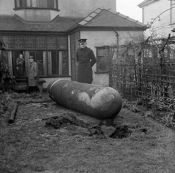 18 March 1941 worldwartwo.filminspector.com Liverpool aerial mine