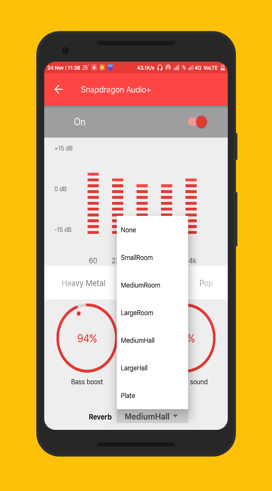 Snapdragon Music Amp Musicfx App For Any Android Device