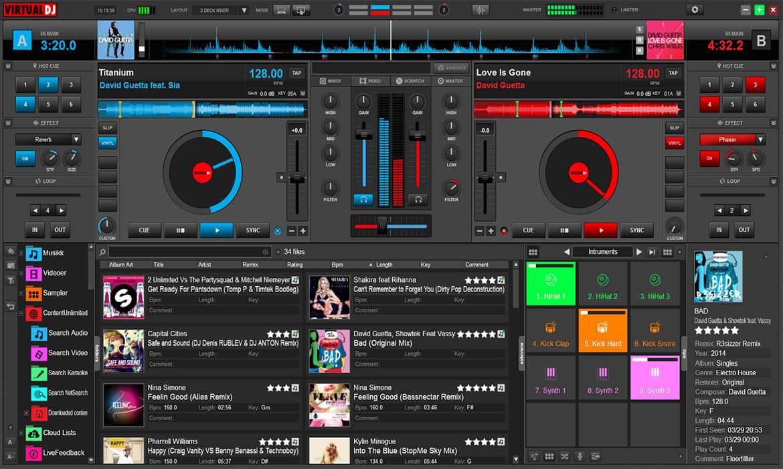 Resultado de imagen para Virtual DJ Pro Infinity
