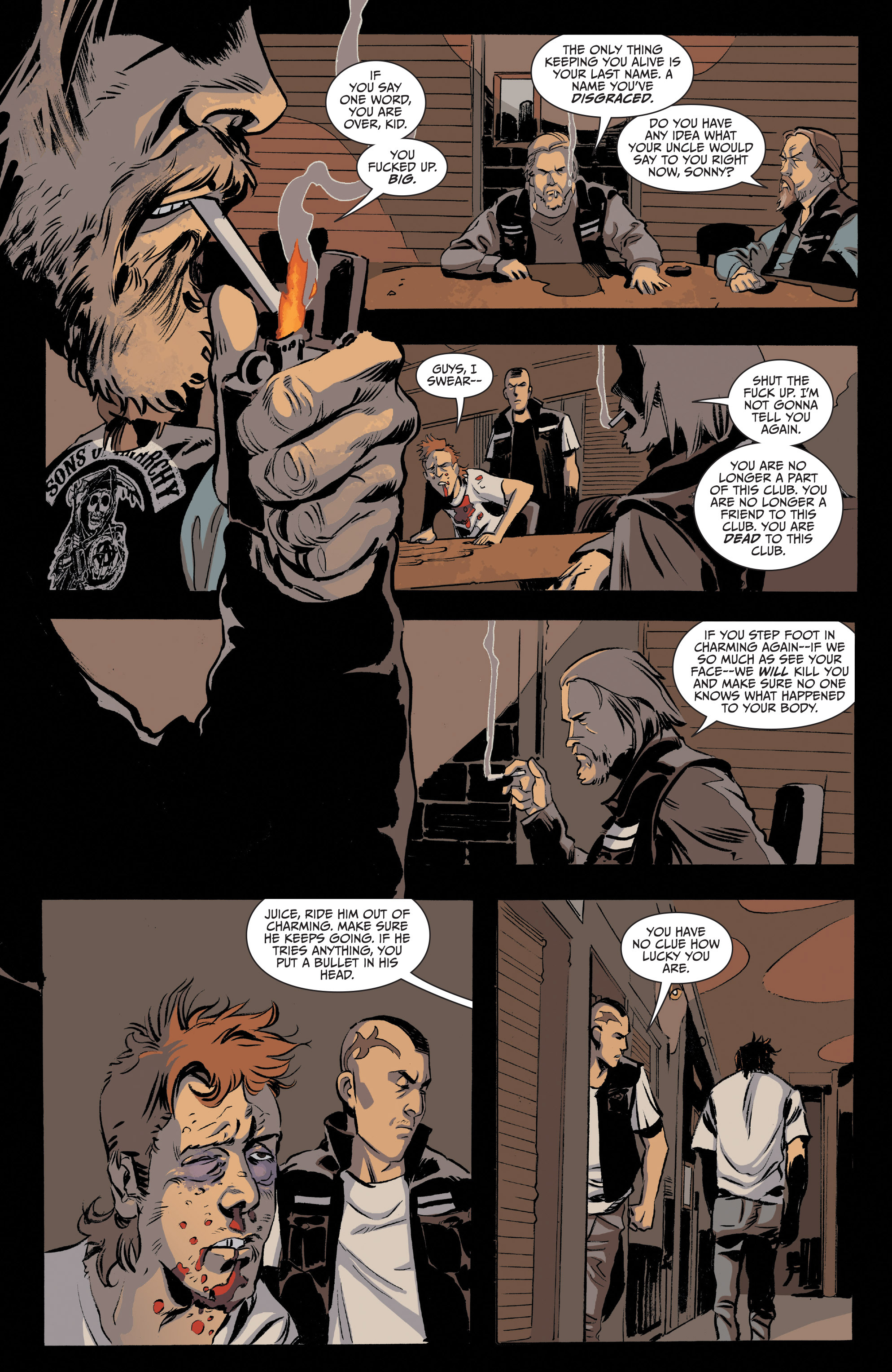 Read online Sons of Anarchy comic -  Issue #20 - 5