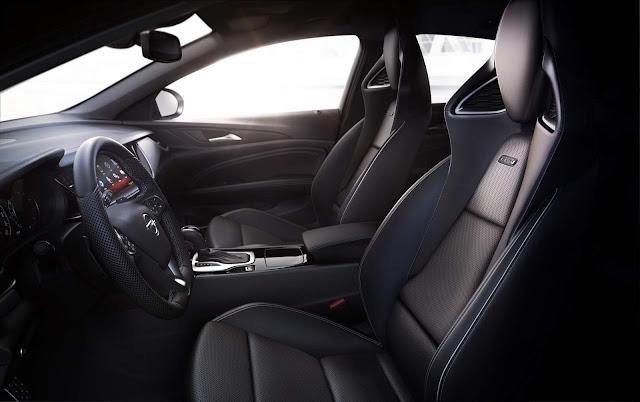 Opel Insígnia GSI - interior