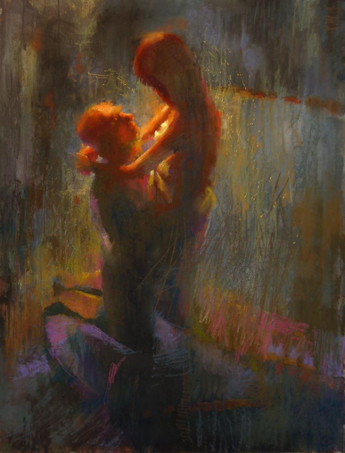 Фигуративный художник. Cathy Locke