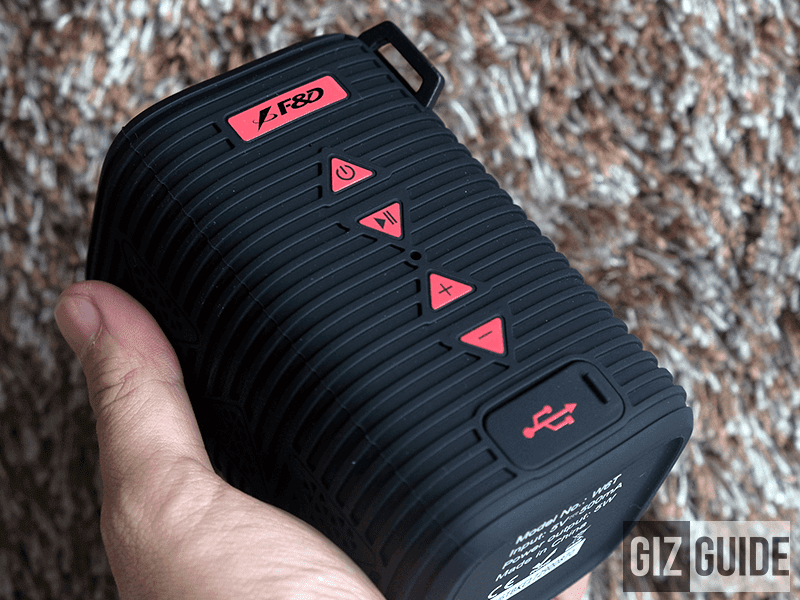 Meet F&D W6T, The IPX5 certified portable Bluetooth speaker
