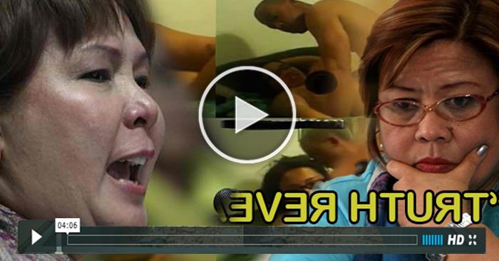 """WATCH: Sandra Cam At Iba Pang Wistle Blower,inilabas Ang Ka """"Pokpokan"""" Ni De Lima"""