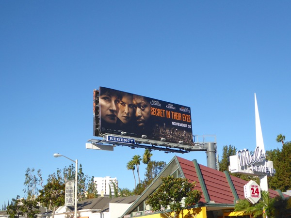 Secret in their Eyes movie billboard