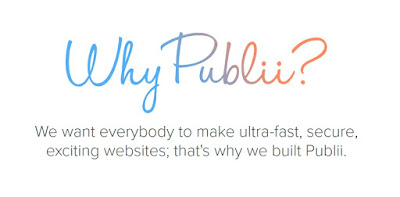 Alternative Wordpress - Publii