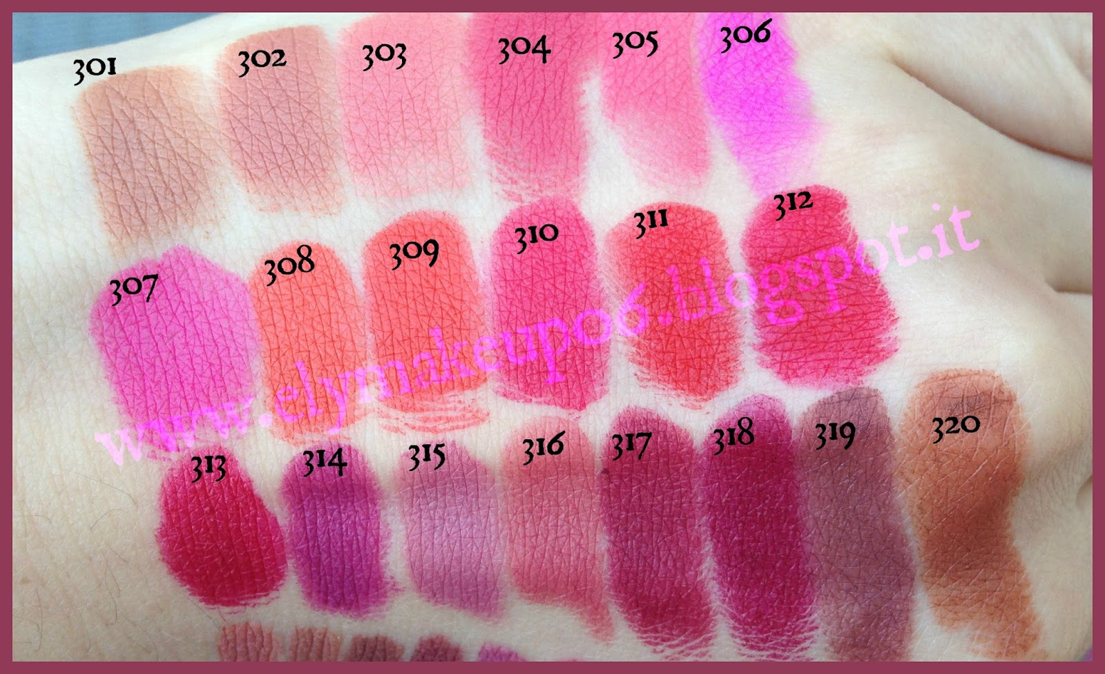 Lipstick Mat Colour