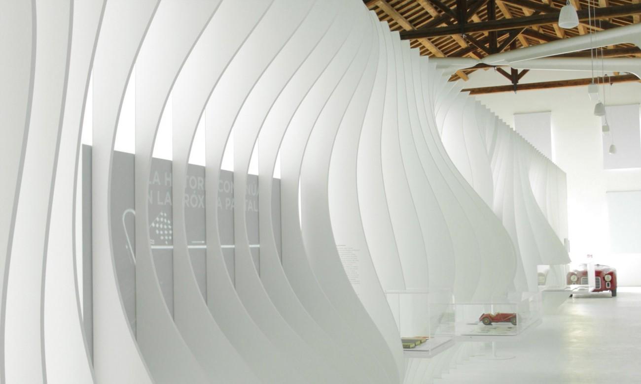 Exhibition interior design enzo ferrari house exhibition modena italy shiro studio for International interior design exhibition