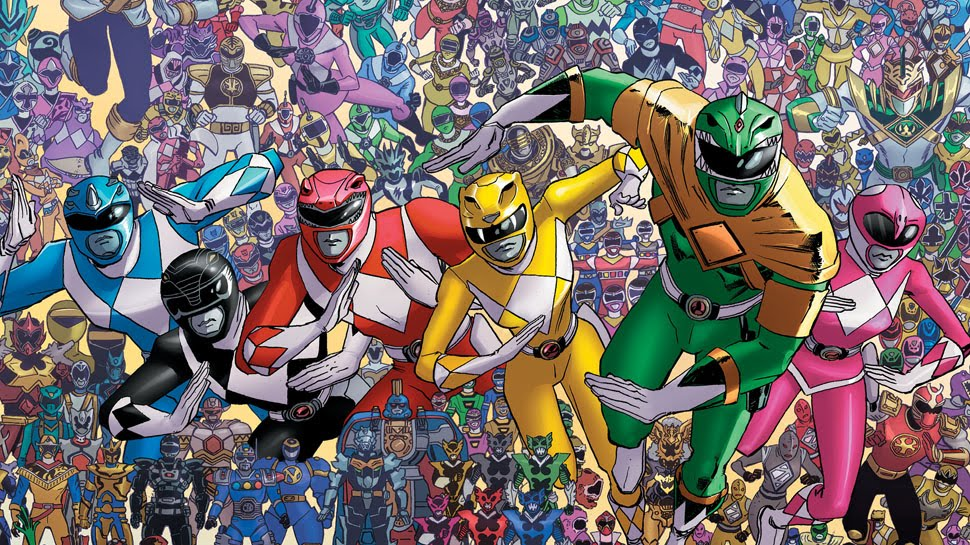 mighty morphin power Rangers shattered grid 25th anniversary