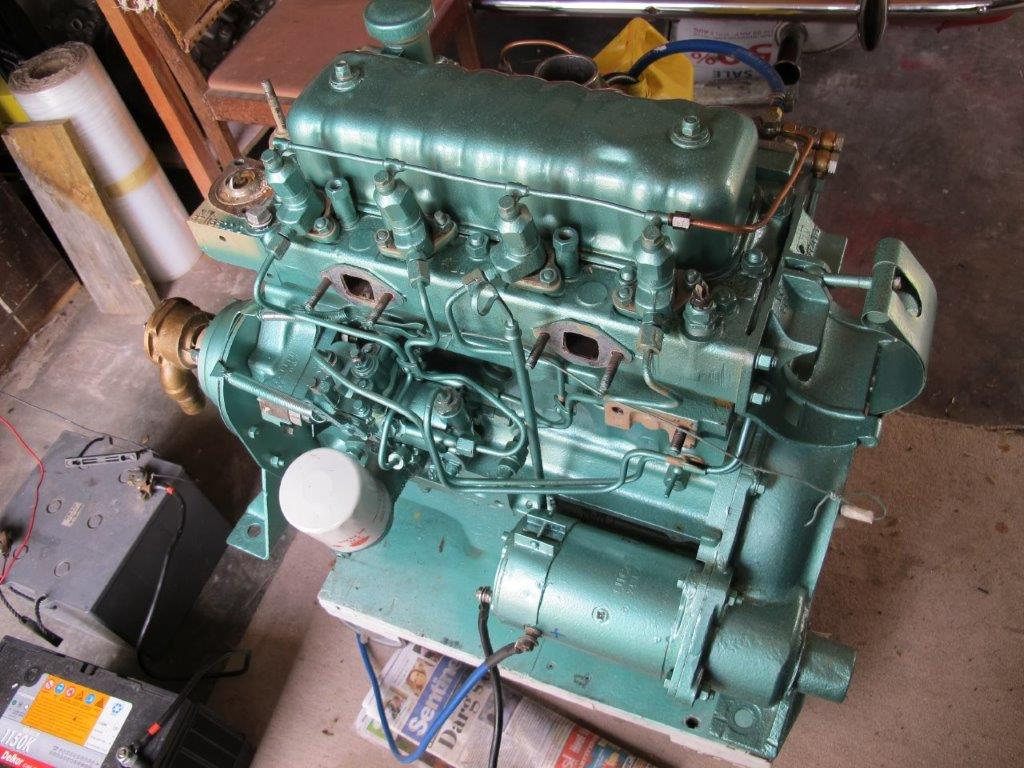 ckd boats roy mc perkins 4108 marine diesel for sale