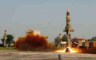 Prithvi II Missile successfully launched