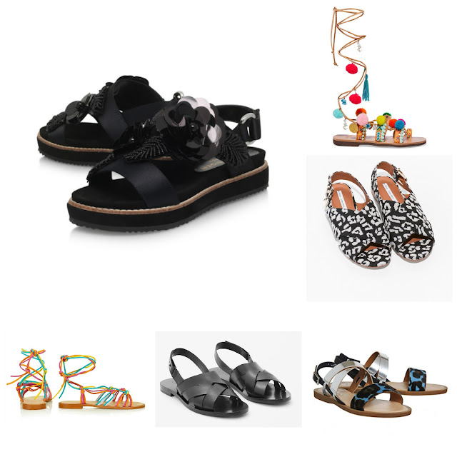 The Summer Sandal Edit by Laura Lewis