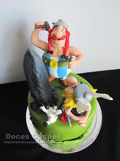 bolo aniversário obelix