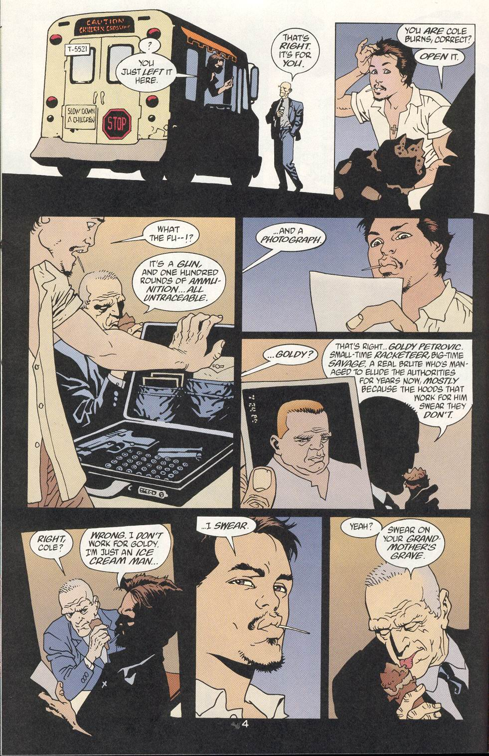 Read online 100 Bullets comic -  Issue #9 - 6