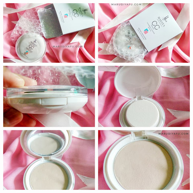 Mazaya CC Powder Whitening yang Natural Highlighter