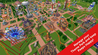 RollerCoaster Tycoon Touch v1.9.2 Mod
