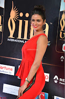 Meenakshi Dixit in Red One Shoulder Red Zipped up gown at IIFA Utsavam Award 05.JPG