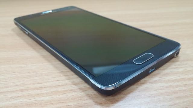 Thay man hinh Samsung Note 4 moi