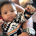 Serena Williams' daughter Alexis Olympia flexes her fists in adorable new photo